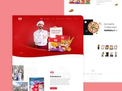 9595 Homepage Concept