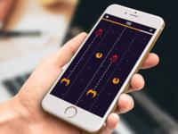 Mobile Game Design Mockup