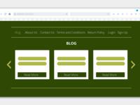 Blog Simple UI Design