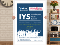 Youth Conference International Organization Poster