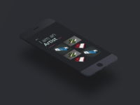 Simple Dark Portfolio Concept