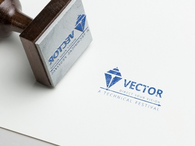 Technical Event Vector Logo Design typography abstract icon colors illustration logo identity branding minimal flat clean branding vector design