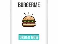 Burger Me Mobile App Concept