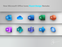New Microsoft Office Icons Remake
