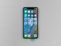 New Microsoft Office Icons Remake on iPhone XS