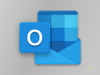 New Office Icons : Outlook Icon Closeup