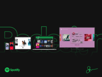 The All New Spotify Redesign - Consistent Experience