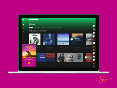 The All New Spotify Redesign - Desktop