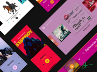 The All New Spotify Redesign Illustration