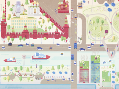 Moscow 2030 - smart city
