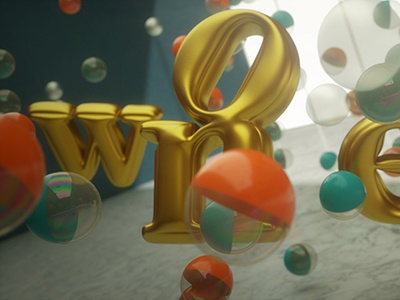 WONDERFUL art direction animation octane cinema 4d motion graphics wonderful