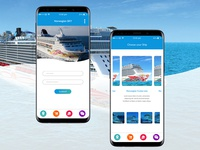 Login page for Ship Cruise