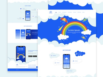 App Landing page_Weather