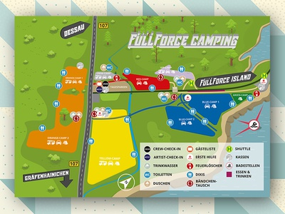 With Full Force 2017 Ground Plan