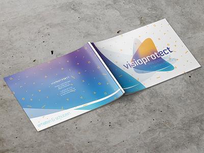 Visioprotect DINA4 Magazine presentation print printdesign mockup indesign design corporatedesign branding magazin dina4