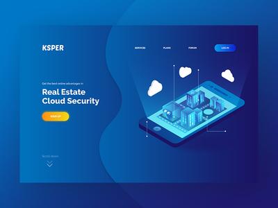 Cloud Security | Landing Page