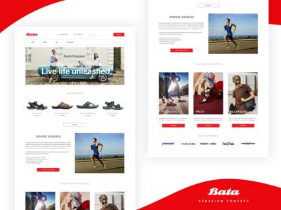 BATA | Website Concept