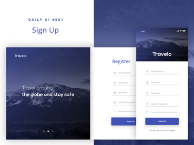 Sign up | Screen