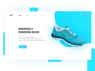 Shoe Store Landing Page