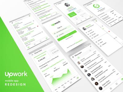 Upwork Mobile App Redesign