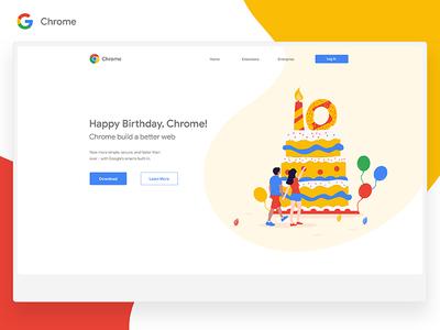Chrome 10th Anniversary