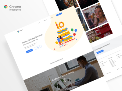 Chrome 10th Anniversary Redesigned
