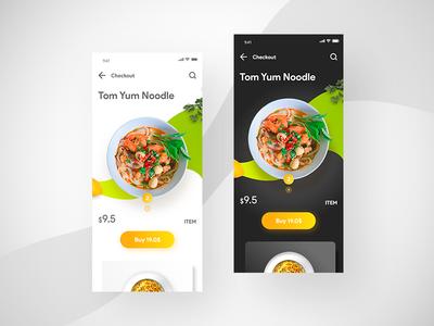 Food app Checkout