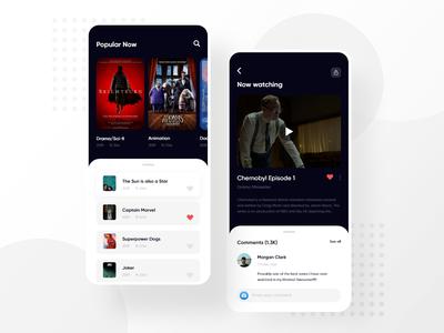 Movie App Concept