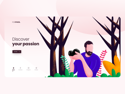 Landing Page Personal Site