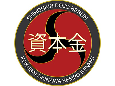 Shihonkin Dojo Berlin logo design martial arts illustrator