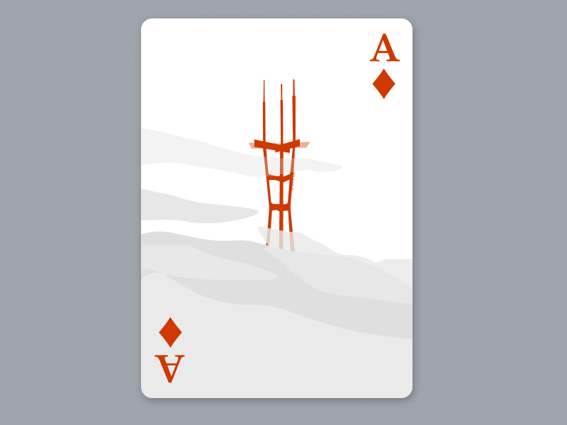 Ace Of Diamonds figma graphic design illustration playing card