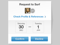 Request Widget