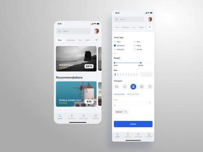 Product design - filter product design goritsyn new uiux design app app product travel app filter