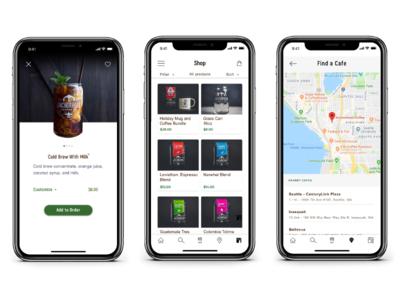 Coffee Application Design ( Anchorhead Coffee)