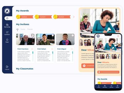 Dashboard virtual Graduation - Wemi school student dashboard