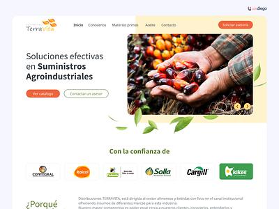 Agricultural Supplies - Web portfolio farmers market farmer supplies farm agriculture agro