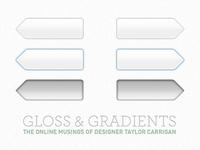 Gloss & Gradients Pagination