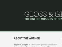 Gloss & Gradients 3.0