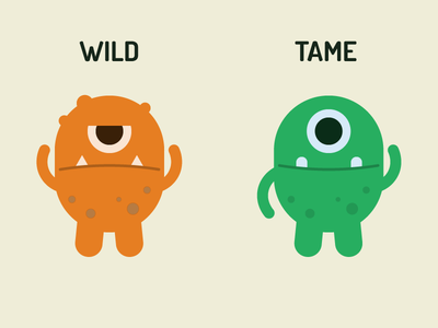 Born to be wild health illustrations monsters