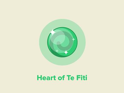 Heart Of Te Fiti from Moana stones moana