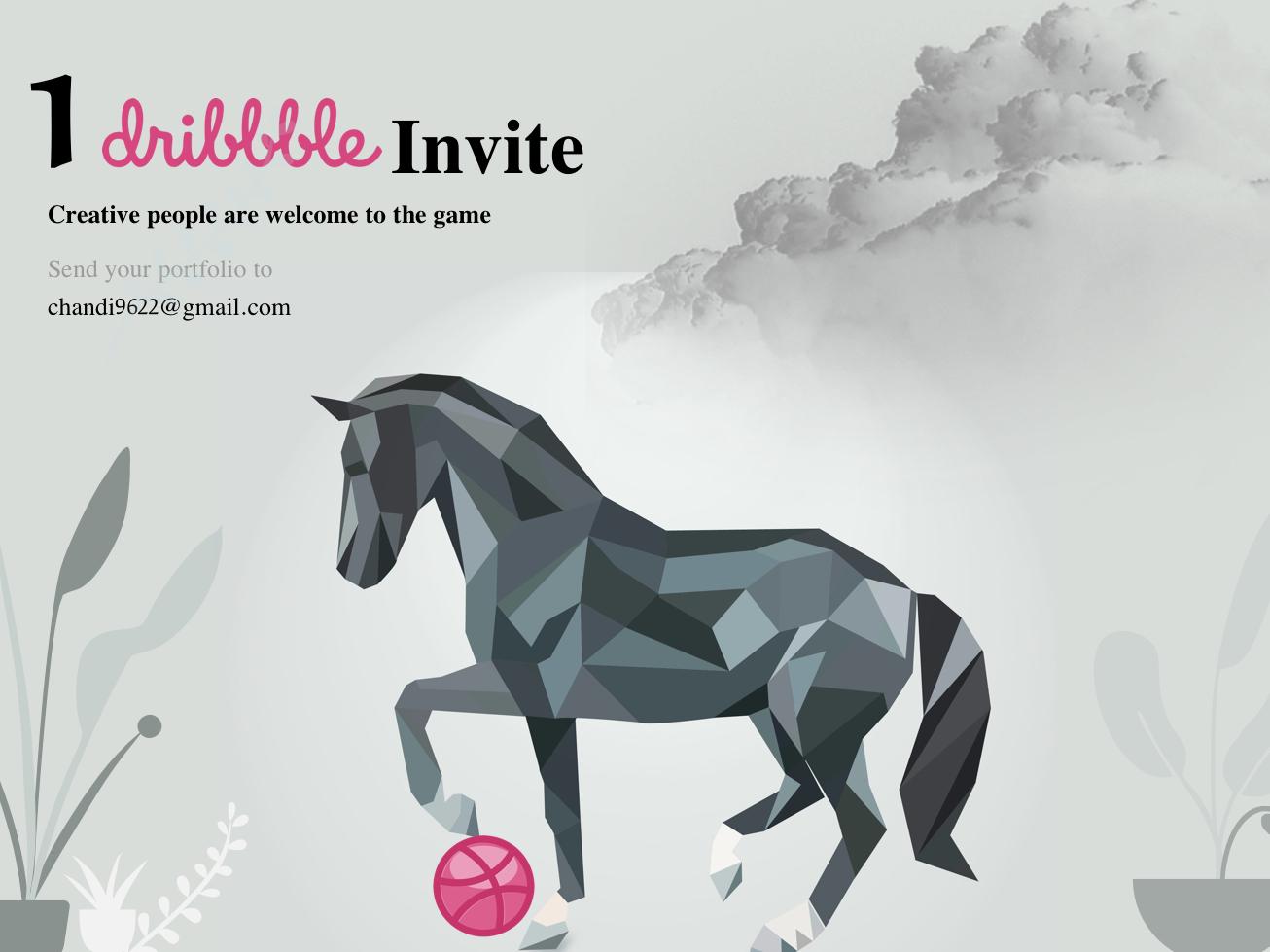 Dribbble Invite icon characterdesign graphic design dailyui logo illustration creative logo logo design creative ux ui design ui design