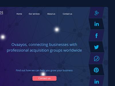 Web design social media web design design