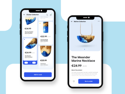 Mobile App - Online Necklace Shop
