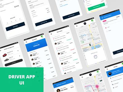 DRIVER APP UI mobile app mobile ui driver app