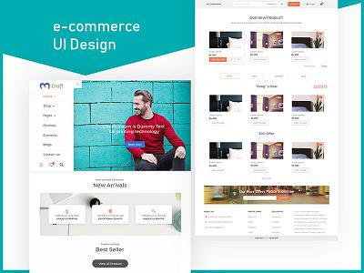 E-commerce Shopping UI