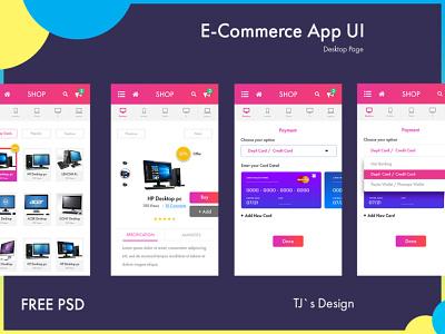 eCommerce App ecommerce design ecommerce app