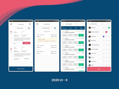 ERP UI 2020 mobile ui mobile app design mockup ui erp mobile app ui