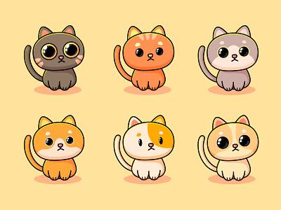 cats illustration design