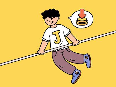 click illustration design