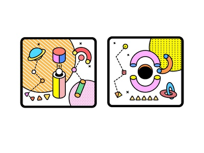style icon illustration design